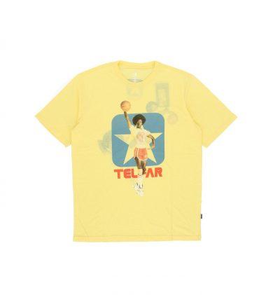 Telfar X Converse t-shirt in yellow