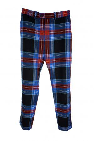 Charles Jeffrey Loverboy Tartan Trousers
