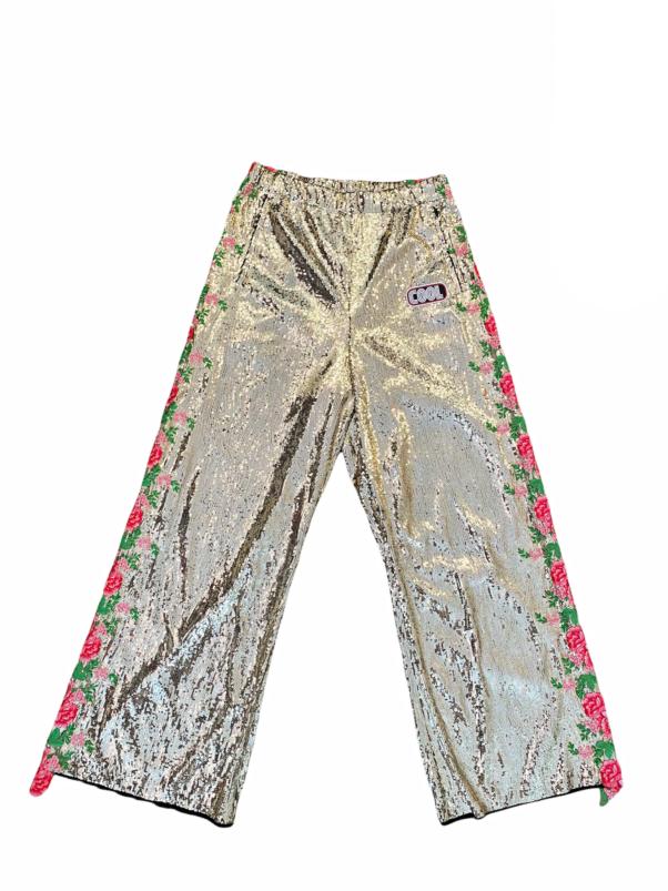 Cool TM - Flower Sequins pants