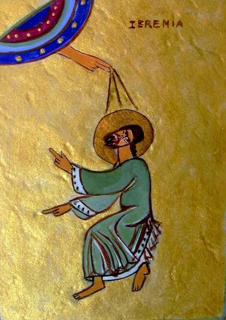 profeta geremia icona
