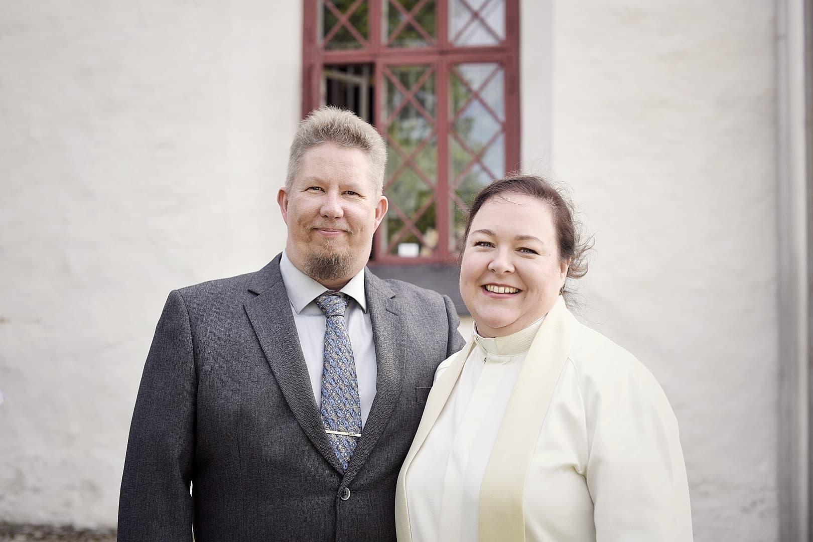Janette och hennes man