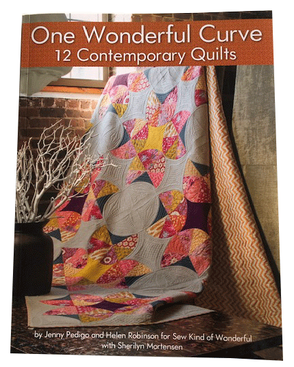 One Wonderful Curve<br> 12 Contemporary Quilts Book Cover