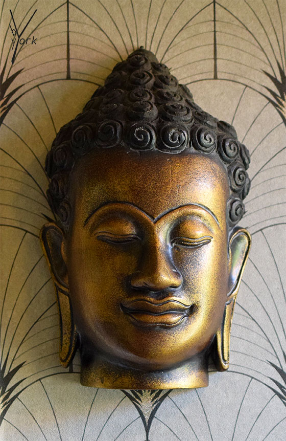 Buddhamaske, patricia york