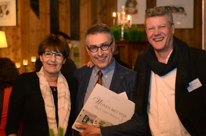 Patrick Retour bij de presentatie van het woonboek Hart voor Huizen 3