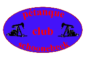 Pétanque Club Schoonebeek Logo