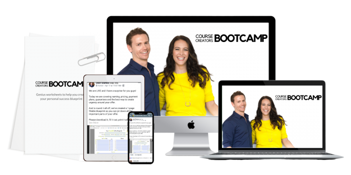 course creators bootcamp