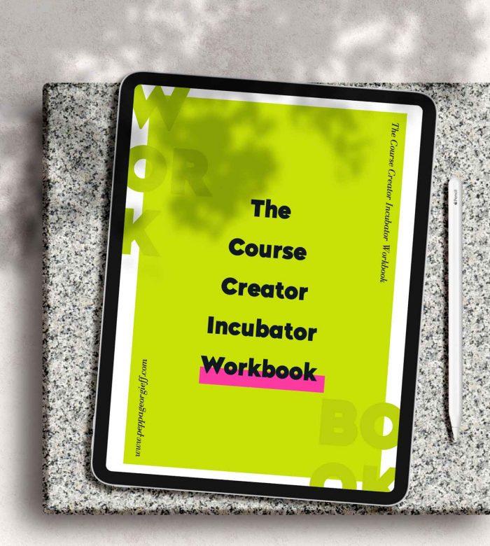 Course creators workbook