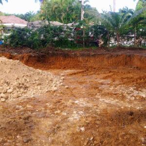 Terreno Perla Marina - excavación