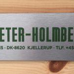 SKILT natur PETER-HOLMBERG