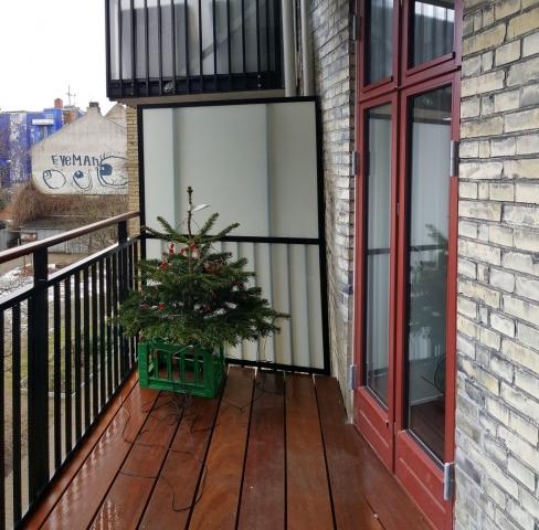 Jul på altanen