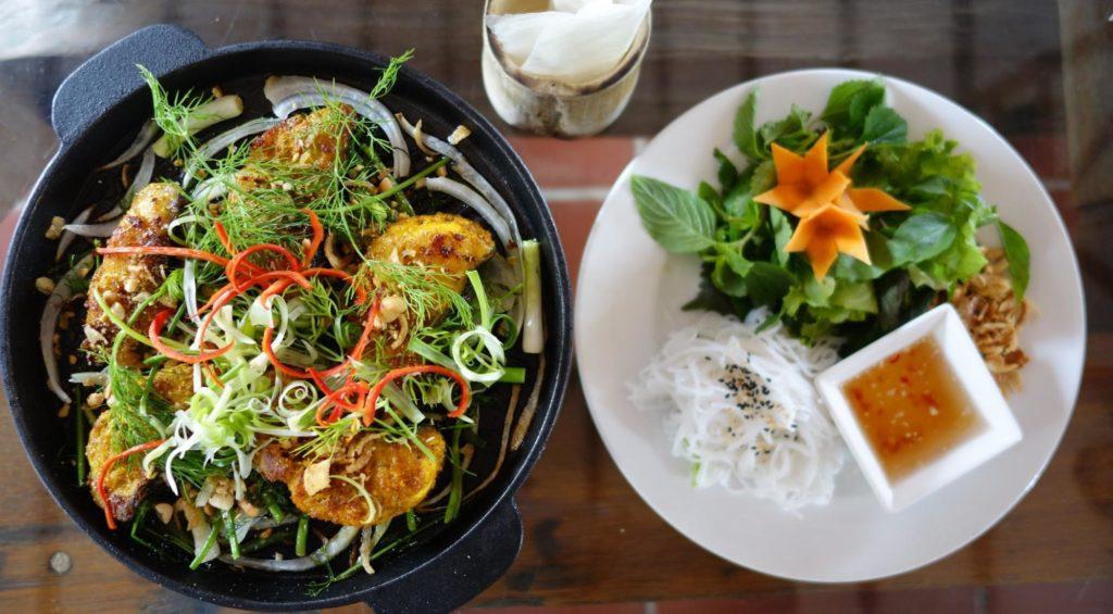 Cha ca La Vong at Phong Nha Farmstay