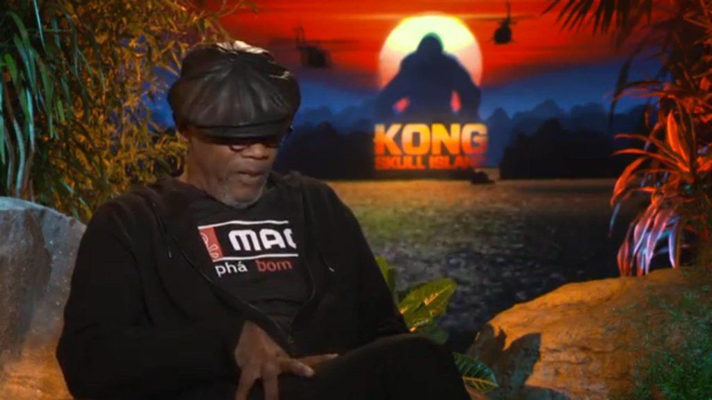Samuel L Jackson promotes Mag in Vietnam!