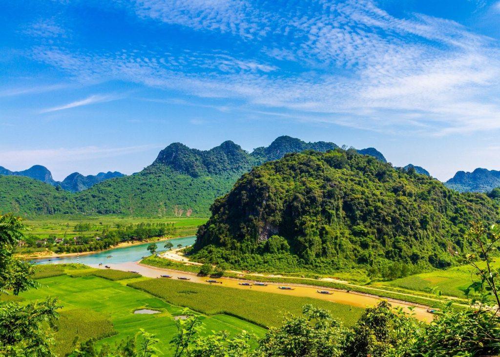 Phong Nha caves, Tien son cave, vietnam caves