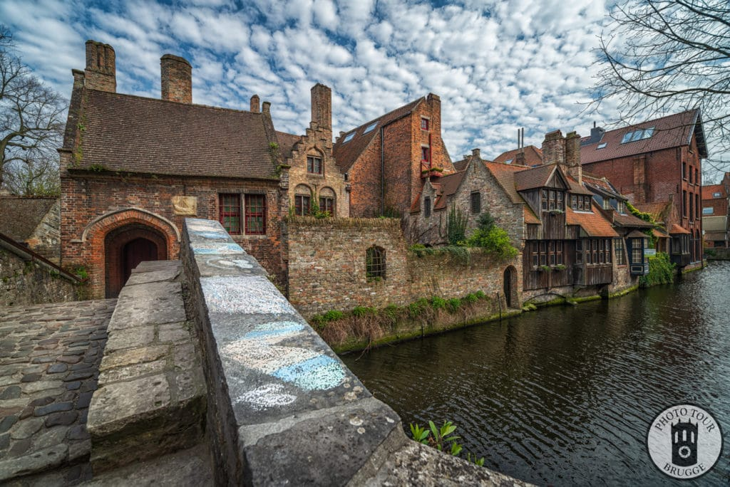 Bonifacius Brigde during Brugge pandemic Lockdown 2020