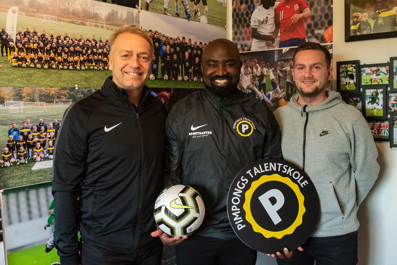 Nike og Sportmaster støtter Pimpongs Talentskole