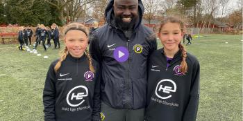 Fodboldskole kun for piger