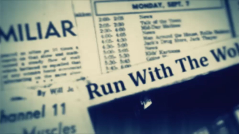 RUN WITH THE WOLVES – music video