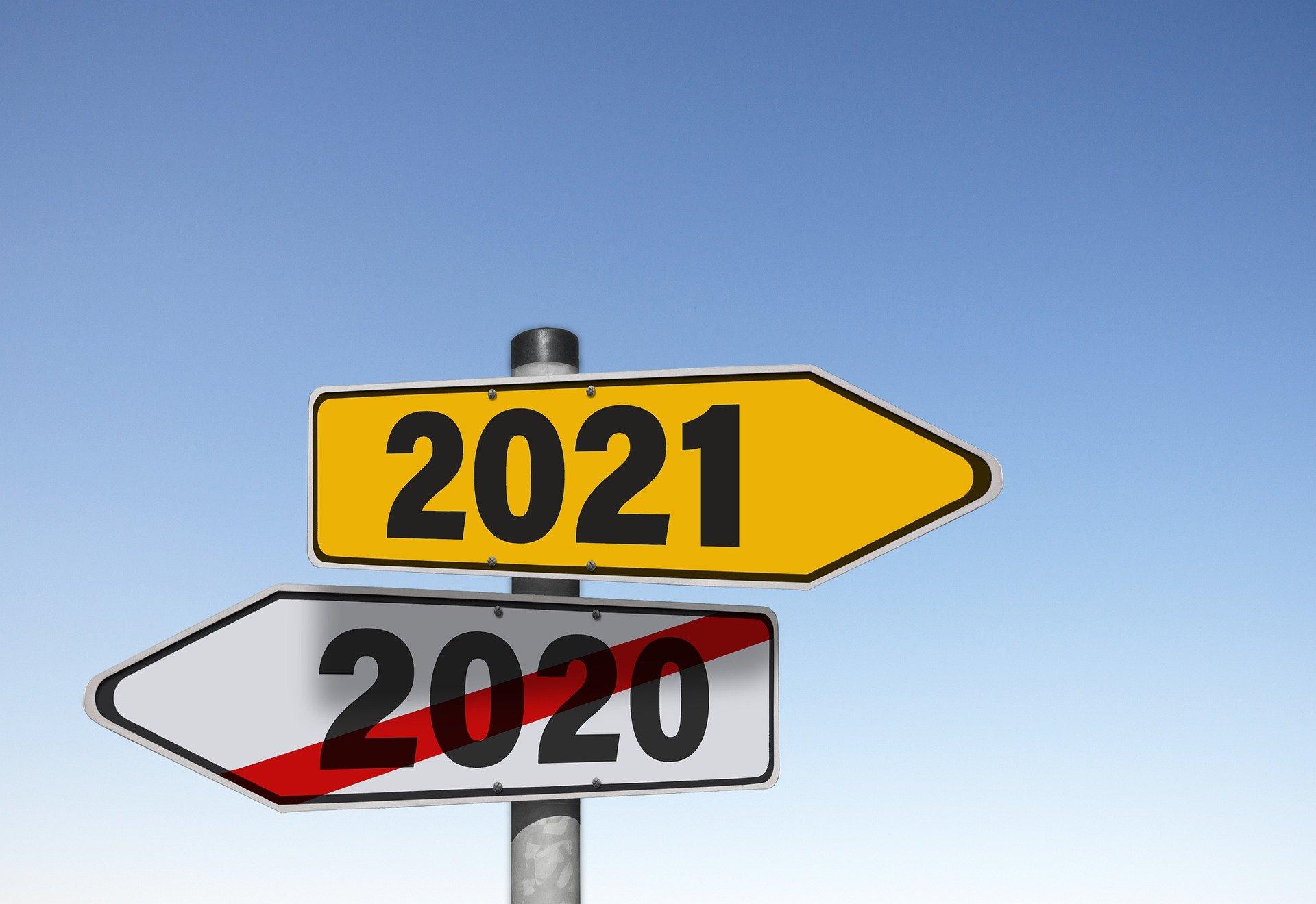 Adeus 2020, Olá 2021