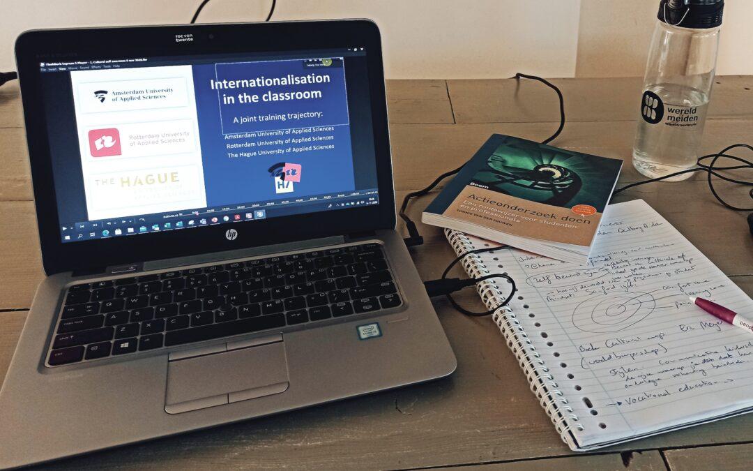Het onderwijs is nadrukkelijk bezig met het internationaliseren van haar curriculum.