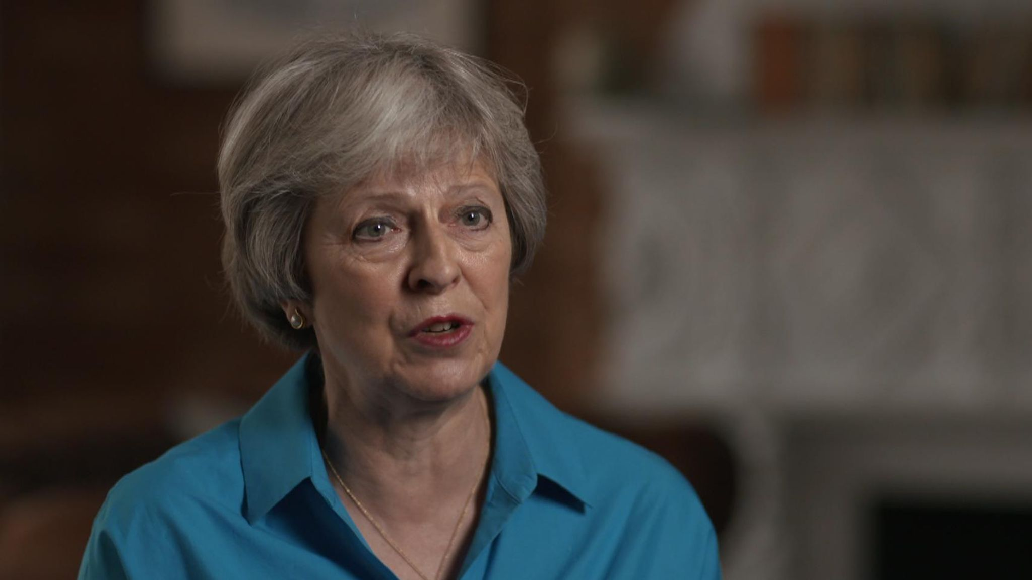 Theresa May interview with Sky News