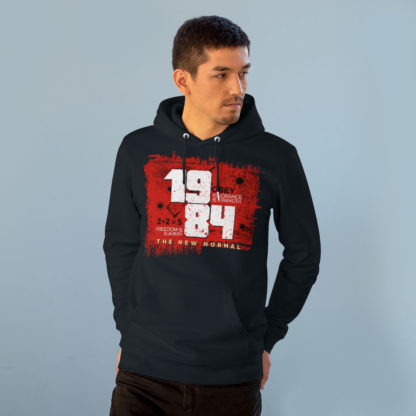 1984 the new normal unisex hoodie