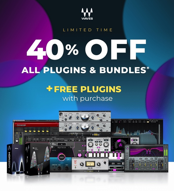 Waves continue crazy plugin discounts