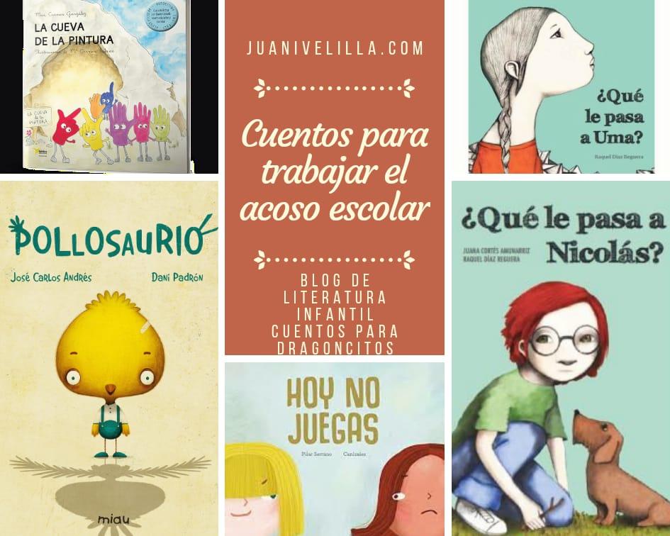 Libros para niños contra el acoso escolar.