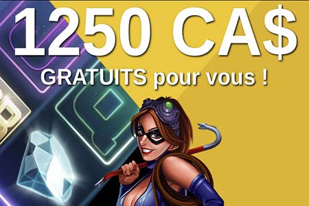 Casino bonus en dollar Canadien