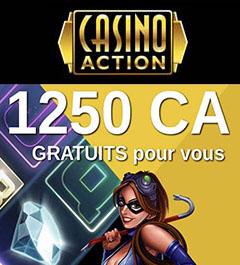 Casino Action en Ligne au Québec