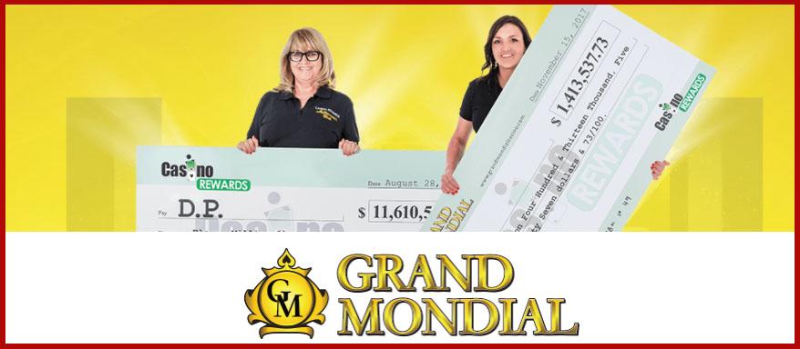 Grand Mondial Casino et le Mega Moolah