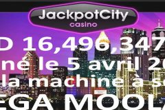 Gagnant Mega Moolah 2020 chez Jackpot City