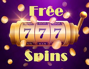 Free spins sur la slot machine