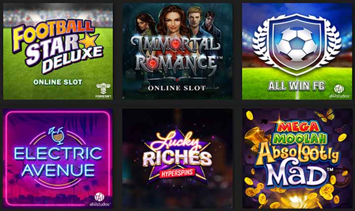 Slots en ligne sur OCT casino au Canada