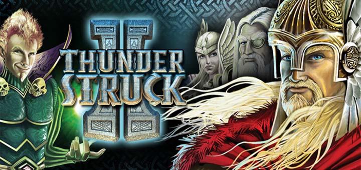 Machine à sous Thunderstruck 2 au casino en ligne