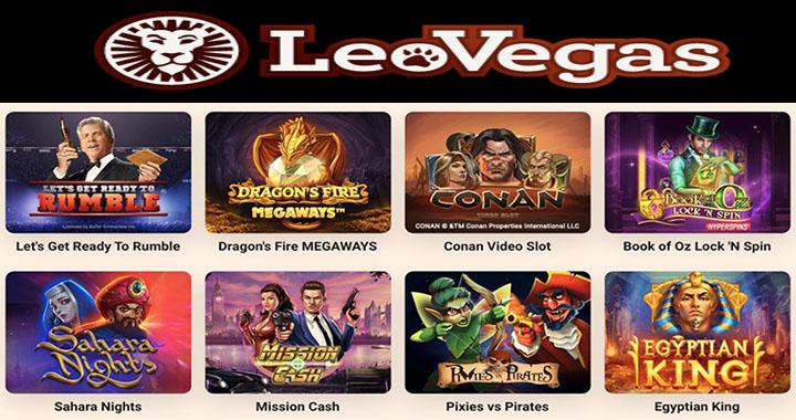 Avis sur LeoVegas casino