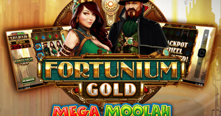 Fortunium Gold de la Mega Moolah série