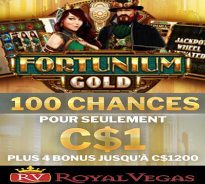 Royal Vegas Fortunium Gold