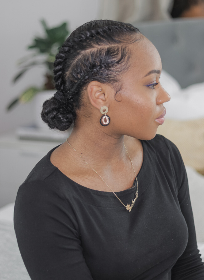 10 Easy Flat Twist Styles For Natural Hair