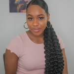3 Easy Glam Curly Hair Low Ponytail Styles for Any Ocasion