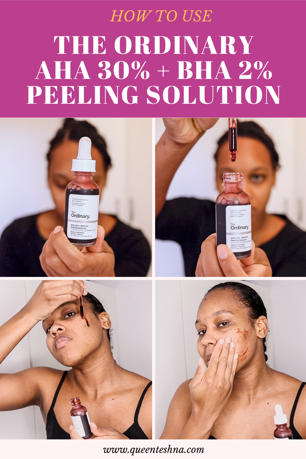 The Ordinary Peeling Solution 2 Weeks Results