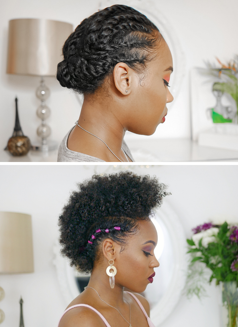 10 Low Manipulation Hairstyles For Natural Hair