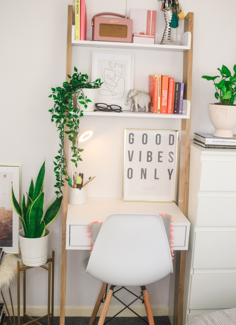 My Ladder Desk Tour & Organisation Tips For Small Spaces