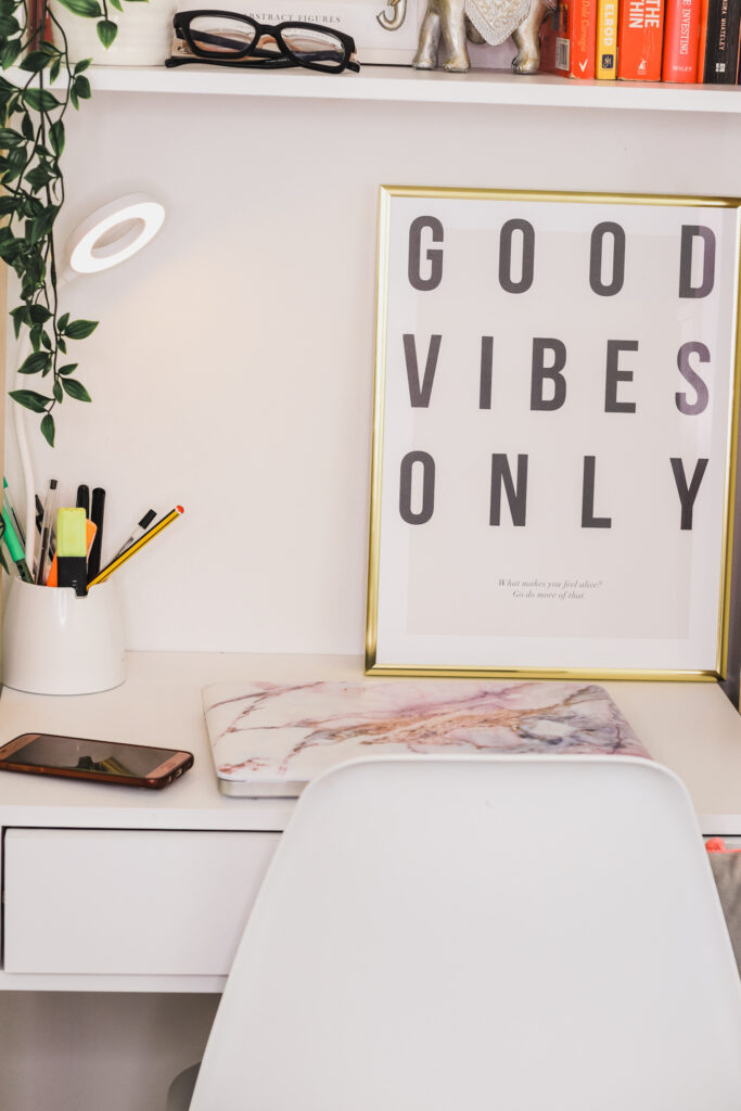 3 in 1 ladder desk space for creatives