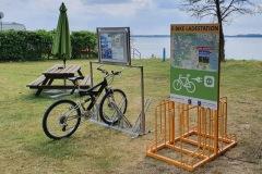 """Rückseite der Ladestation """"Inselcamping-Werder"""""""