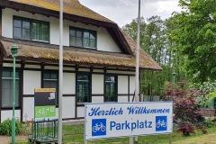 Vorderseite der Ladestation Pension & Restaurant Lenzer Krug