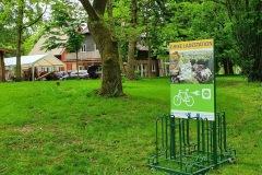 """Vorderseite der Ladestation """"Ferienscheune am Lustweg"""" Dobbin"""