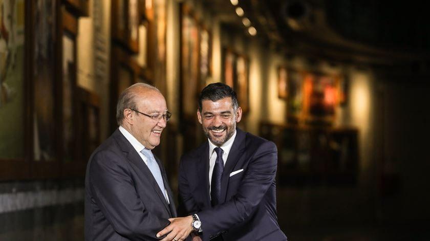 Sérgio Conceição e Pinto da Costa