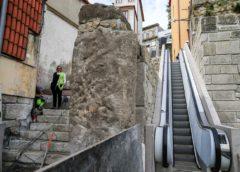 Miragaia: escadas rolantes no Monte dos Judeus já estão a funcionar