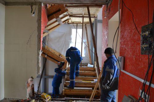 Raduga Reha-Zentrum Renovierungsarbeiten