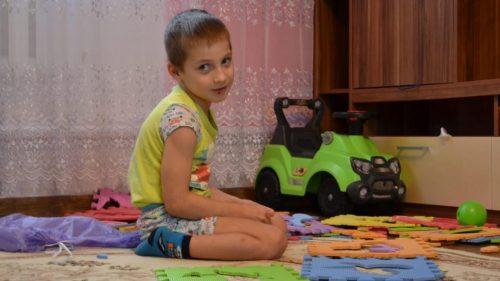 Raduga Hausbesuch bei Kindern